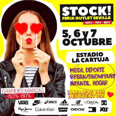 Stock! Feria Outlet Sevilla 2018