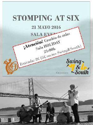 Concierto: Stomping at Six en Sala Holiday Sevilla
