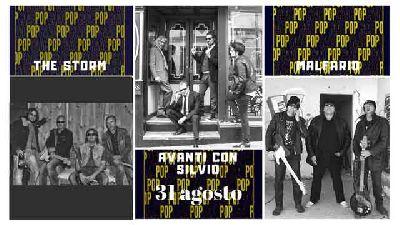 Concierto: Storm, Avanti con Silvio y Malfario en Pop CAAC Sevilla 2018