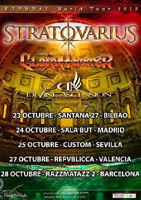 Concierto: Stratovarius en Custom Sevilla 2015