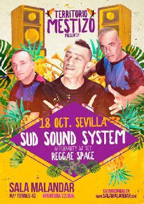 Concierto: Sud Sound System en Malandar Sevilla 2018
