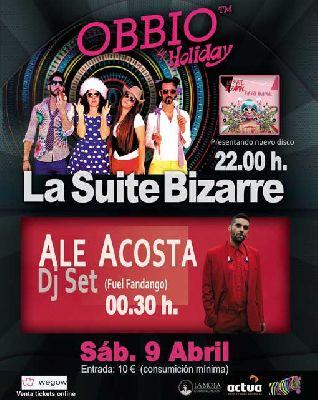 Concierto: La Suite Bizarre en Sala Holiday Sevilla