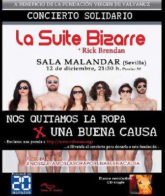 Concierto: Suite Bizarre y Rick Brendan en Malandar Sevilla