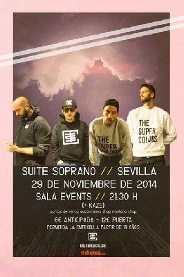 Concierto: Suite Soprano en la Sala Events de Sevilla