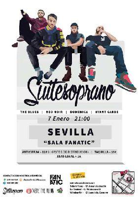 Concierto: Suite Soprano en Fanatic de Sevilla (enero 2017)