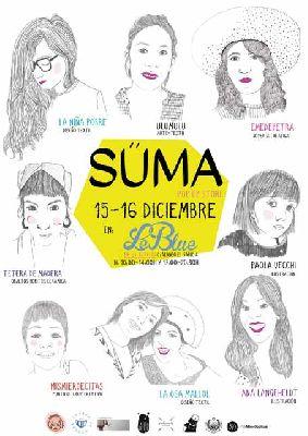 Süma mercado artesano en Sevilla (diciembre 2017)