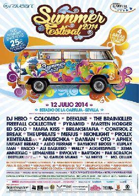 Summer Festival 2014 en Sevilla