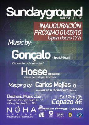 Sundayground música electrónica en la Sala Noha Sevilla