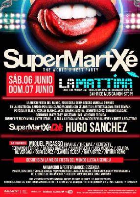 SuperMartxé Pool Party en La Mattina Sevilla