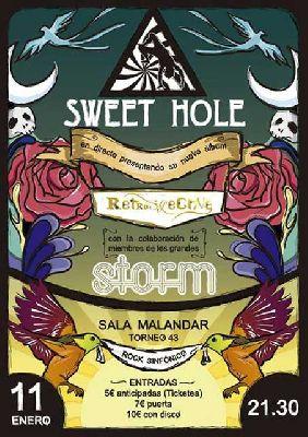 Concierto: Sweet Hole presenta Retrospective en Malandar Sevilla