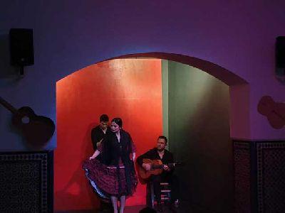 Foto promocional del Tablao flamenco Álvarez Quintero de Sevilla