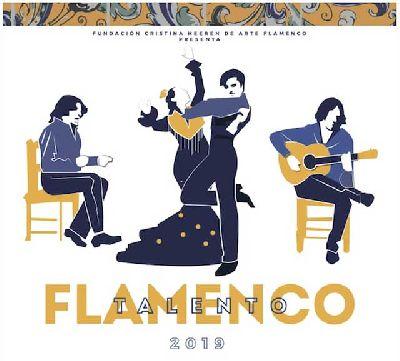 Logotipo del concurso Talento Flamenco 2019