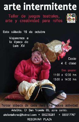 Talleres infantiles de Atelier en Arte Sitio Sevilla