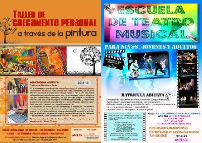 Talleres de Arteterapia y Teatro Musical de Ascena