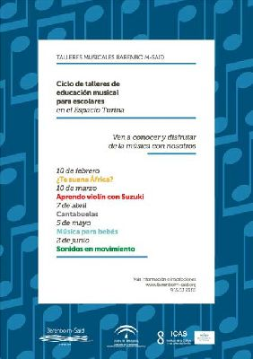 Talleres musicales infantiles de Barenboim-Said en el Espacio Turina de Sevilla