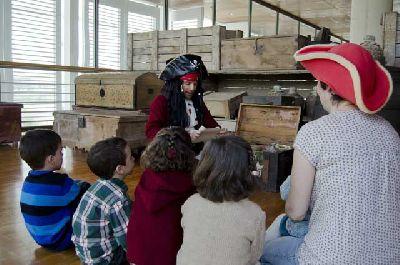 Actividades familiares en Navidad en el Pabellón de la Navegación