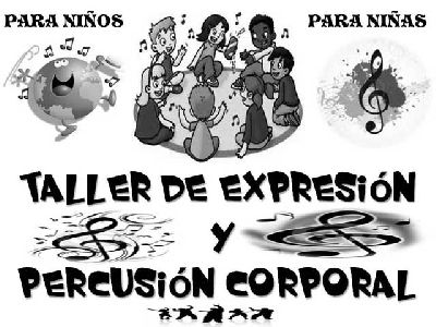 Taller para niños de expresión y percusión corporal en Sevilla