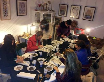 Curso de pintura china y aguada japonesa en C42 Sevilla