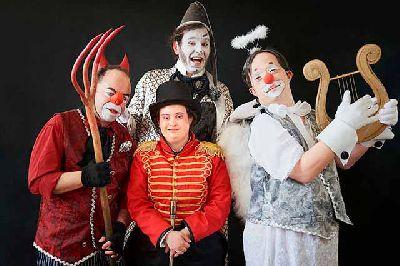 Foto promocional del espectáculo Castigo de dios de la compañía Danza Mobile
