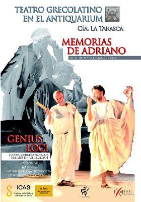 Teatro: Memorias de Adriano y Genius Loci en las Setas Sevilla