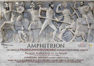Teatro: Amphitrion en el Palacio Marqueses Algaba Sevilla
