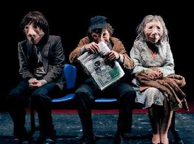 Teatro: André y Dorine en el Centro TNT-Atalaya de Sevilla
