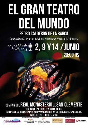 Teatro: El Gran Teatro del Mundo en el Monasterio de San Clemente