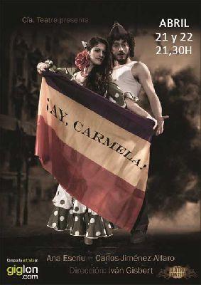 Teatro: Ay Carmela en el Teatro Quintero de Sevilla