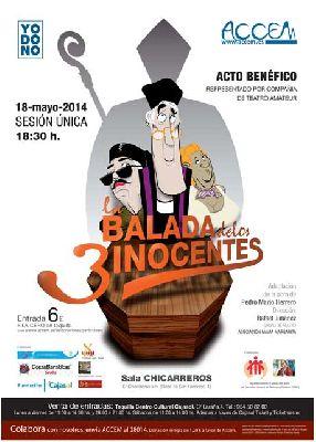 Teatro: La balada de los tres inocentes en Cajasol Sevilla