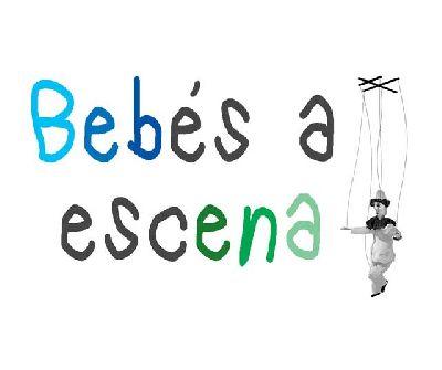 Logotipo de la muestra de teatro Bebés a escena