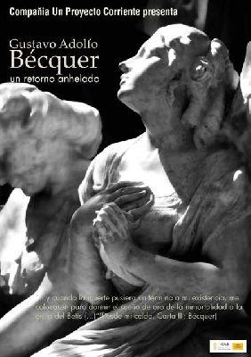 Teatro: Bécquer, un retorno anhelado en Castillo de San Jorge Sevilla
