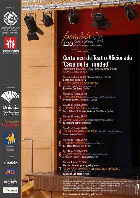 Certamen de Teatro Aficionado Casa de la Trinidad en Sevilla 2016