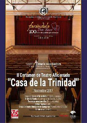 Certamen de Teatro Aficionado Casa de la Trinidad en Sevilla 2017