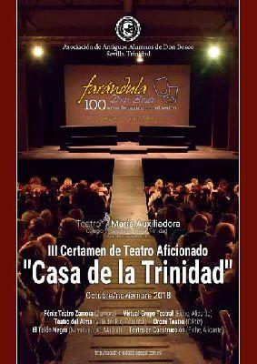 Certamen de Teatro Aficionado Casa de la Trinidad en Sevilla 2018