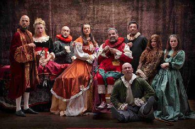 Foto promocional de la obra Céfalo y Pocris de Teatro del Velador