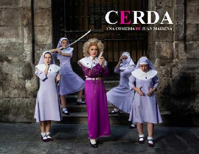 Teatro: Cerda en la Sala Cero de Sevilla