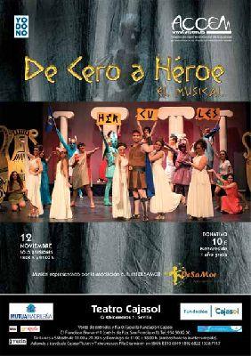 Musical: De cero a héroe a beneficio de Accem en Cajasol Sevilla