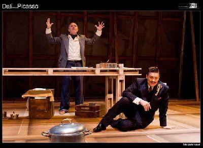 Teatro: Dalí versus Picasso en el Teatro Lope de Vega de Sevilla
