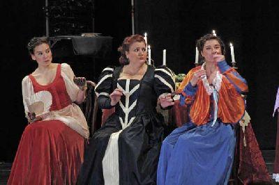 Teatro: La dama boba de Lope de Vega en el Conservatorio de Danza Sevilla