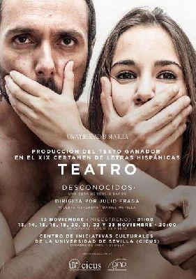 Teatro: Desconocidos en el CICUS de Sevilla