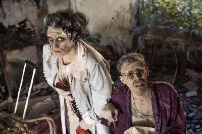 Foto promocional de Dolores de la compañía Teatro a la Plancha
