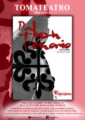 Teatro: Don Juan Tenorio en el Colegio Santa Ana (mayo 2013)