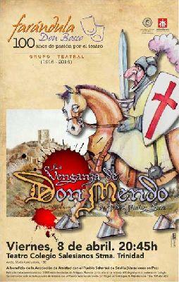 Teatro: La venganza de Don Mendo a beneficio de Vacaciones en Paz