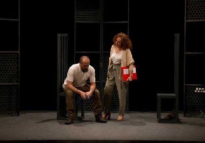 Foto promocional de la obra de teatro El buen hijo