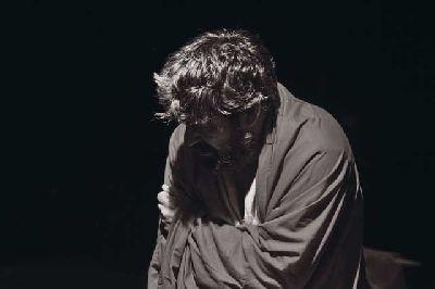 Foto de la obra de teatro El peso de Judas