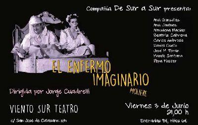 Teatro: El enfermo imaginario en Viento Sur Teatro Sevilla