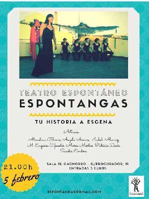 Teatro: Espontangas en la Sala El Cachorro Sevilla (febrero 2016)