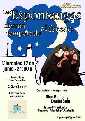 Teatro: Espontangas en La Casa Ensamblá de Sevilla (junio 2015)