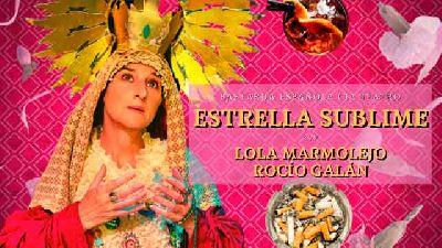 Cartel de la obra Estrella sublime de la compañía Bastarda Española