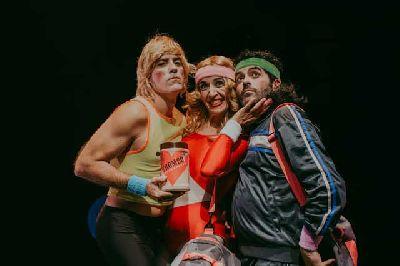 Foto promocional de la obra de teatro Extra de choco por la compañía Mundobobo